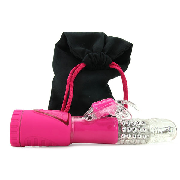 Topco Dreamwings Rabbit Vibrator, Sweet Dream Pink
