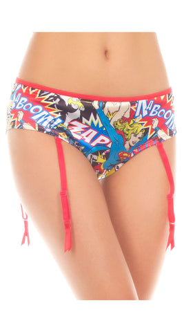 BAM/CRASH HERO GARTER PANTY
