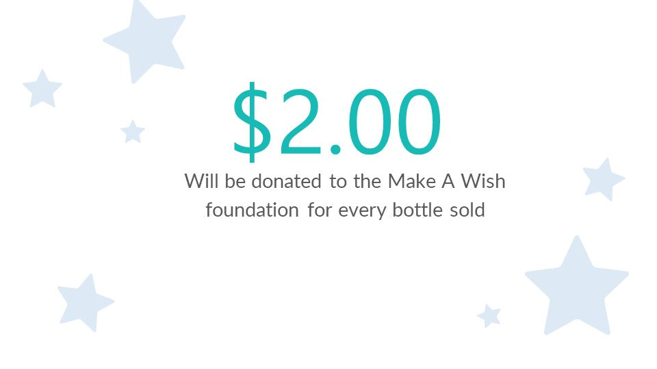 Make a wish 2.00 donation