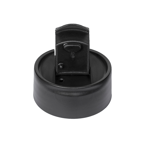 Penguin Cold Coffee Sipper Lid - Black