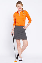 Slimsation Golf Skort - Charcoal