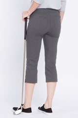 Slimsation Golf Capri - Charcoal