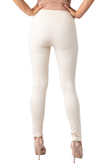 PONTI KNIT LEGGING - WINTER WHITE
