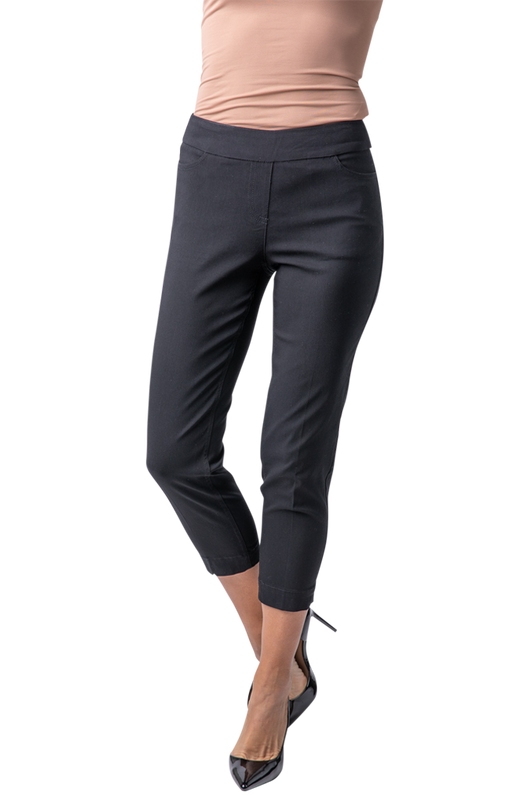 SLIMSATION SKINNY CROP - BLACK