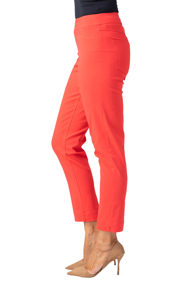 ANKLE PANT - CHERRY