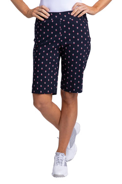Slimsation Golf Print Short - Midnight Print