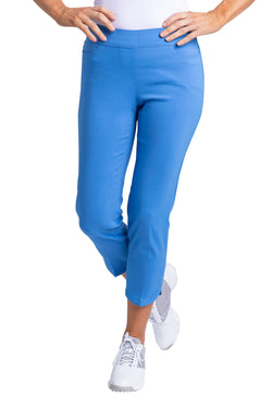 Dolphin Crop Pant - Vista Blue