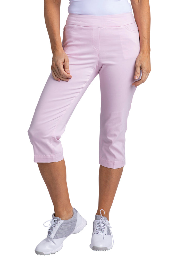 Slimsation Golf Capri - Ice Pink
