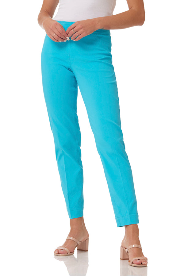 ANKLE PANT - TURQUOISE