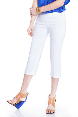 WOMEN'S CAPRI PANT - WHITE