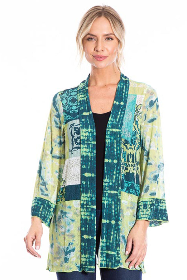 Onionskin Lace Jacket - Multi