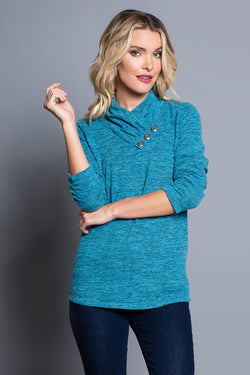 Space Dye Knit Top