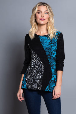 Multi Panel Asymmetrical Top