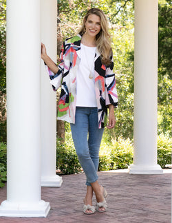 Sharon Young - Watercolor Print Jacket