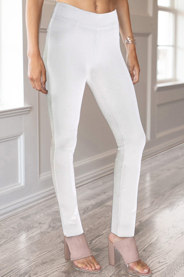 Ultra by Slimsation - Ankle Legging in White