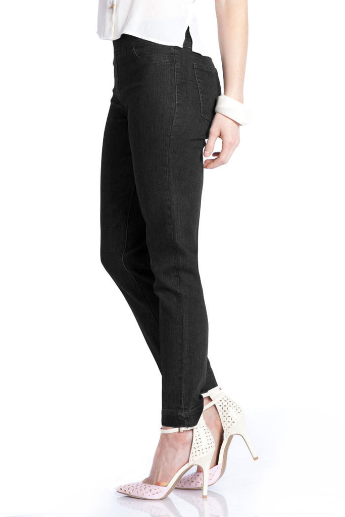 ANKLE PANT - BLK DENIM