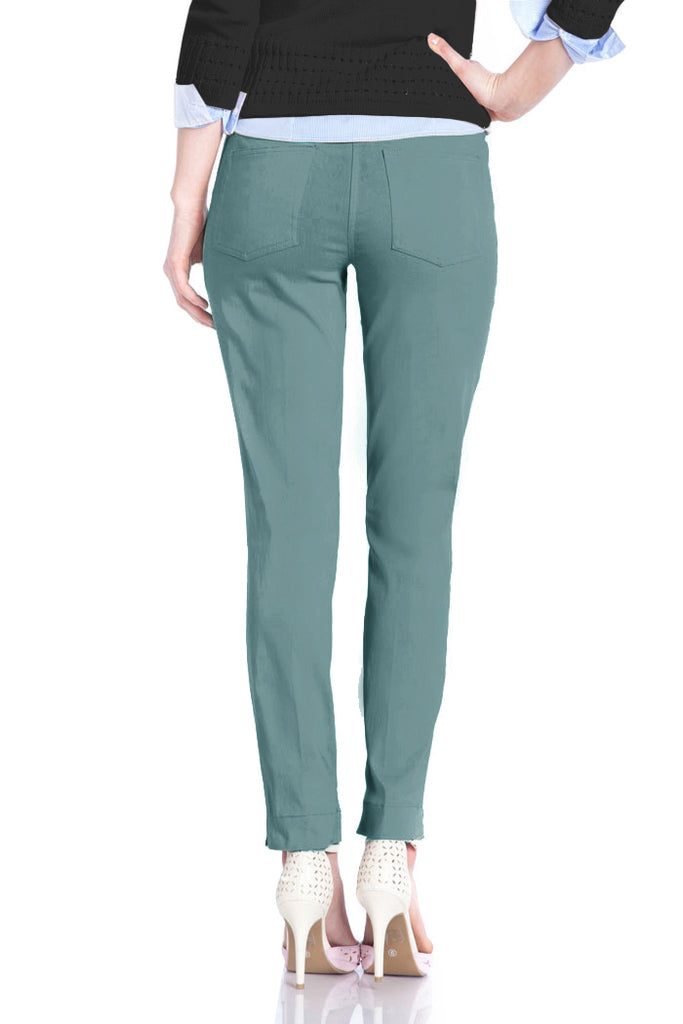 ANKLE PANT - DUSTY TURQUOISE