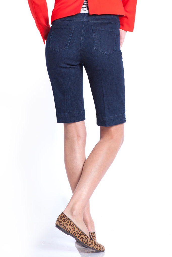 PLUS WALKING SHORT - DENIM