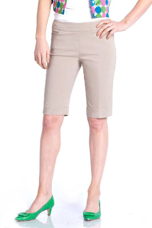WOMEN'S WALKING SHORT - STONE