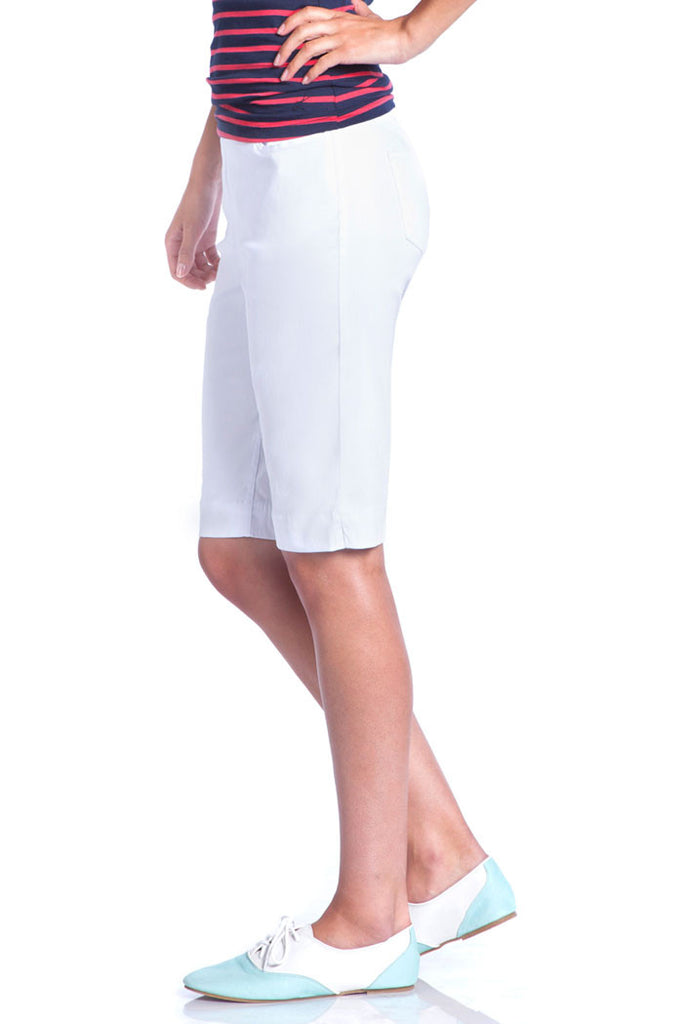 WOMEN'S WALKING SHORT - WHITE