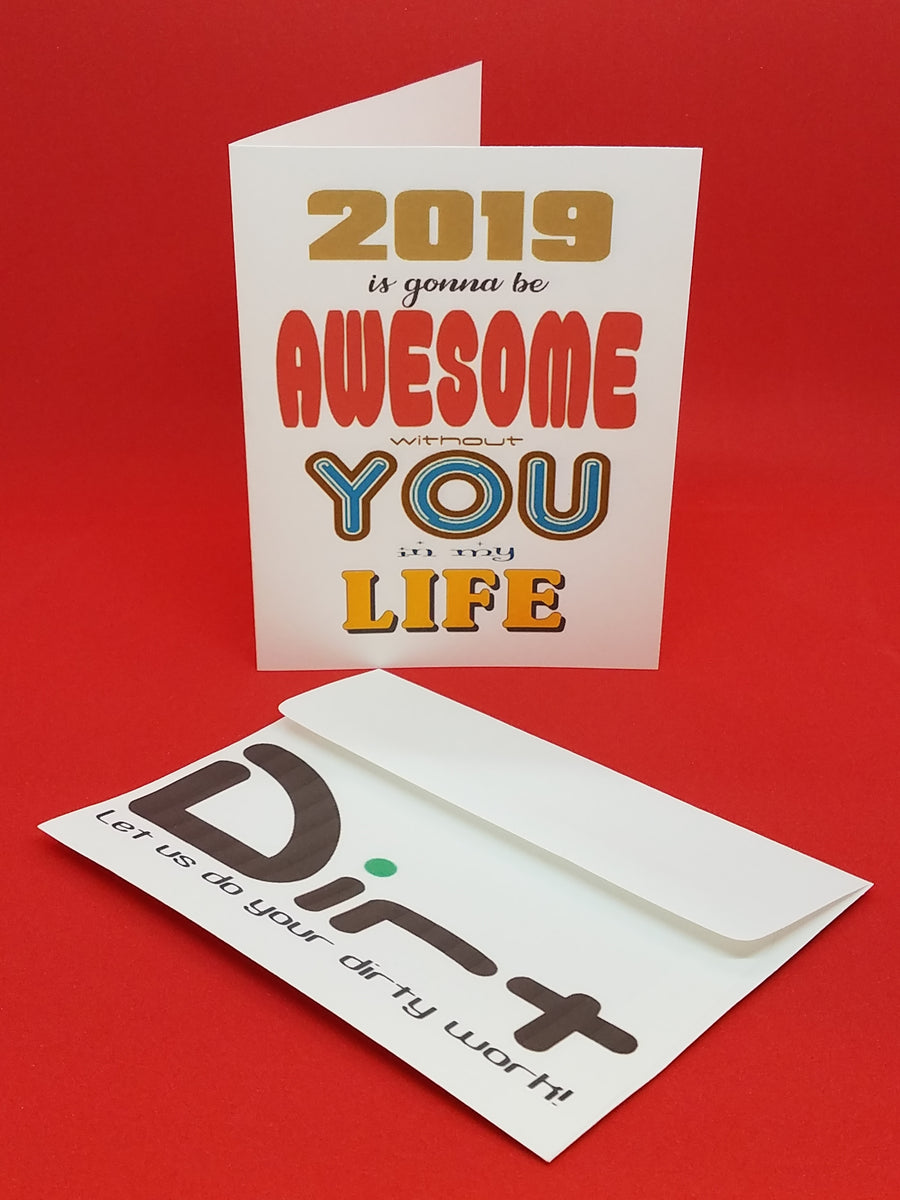 AWESOME WITHOUT YOU CARD
