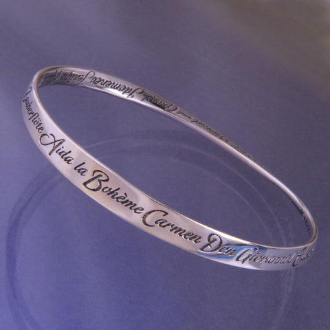 A to Z of Operas - Mobius Bracelet