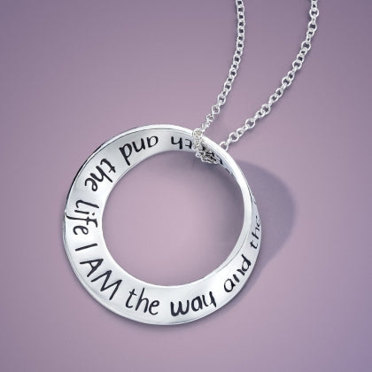 I Am the Way and the Truth - Mobius Necklace