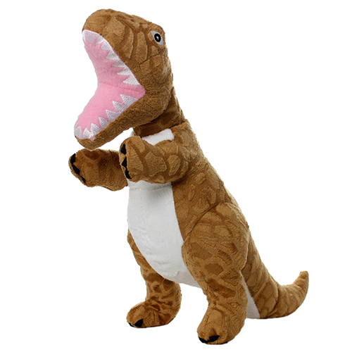 Mighty T Rex Dinosaur Dog Toy – The Paw Is Mightier