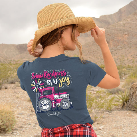 Sow Kindness - Reap Joy (Galatians 5:22) - Women's T-Shirt