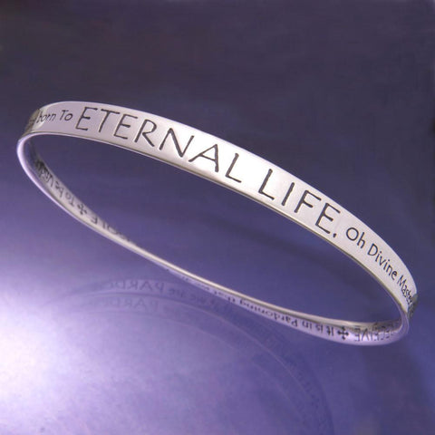 St Francis Prayer - Eternal Life - Mobius Bracelet