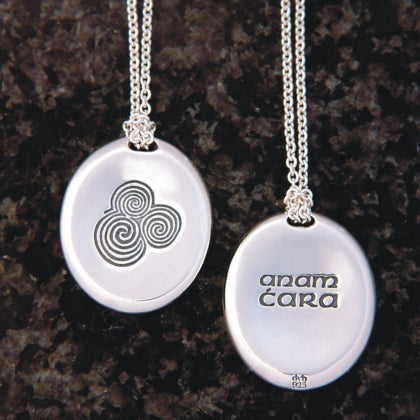 Anam Cara - Soul Friend Necklace (Irish Gaelic)