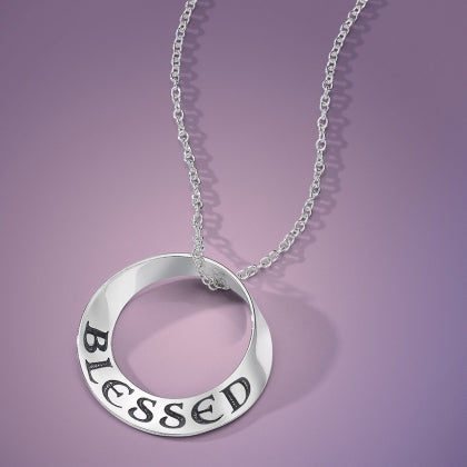 Blessed - Mobius Necklace