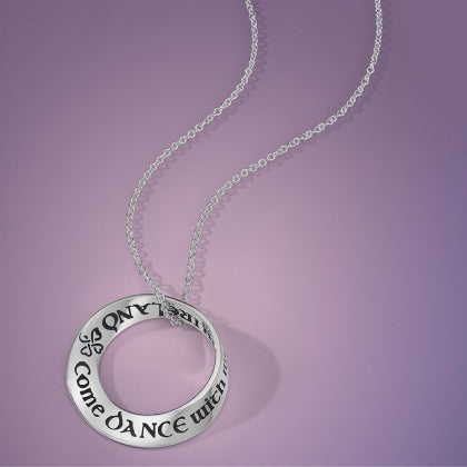 Come Dance with Me In Ireland (WB Yeats) - Mobius Necklace
