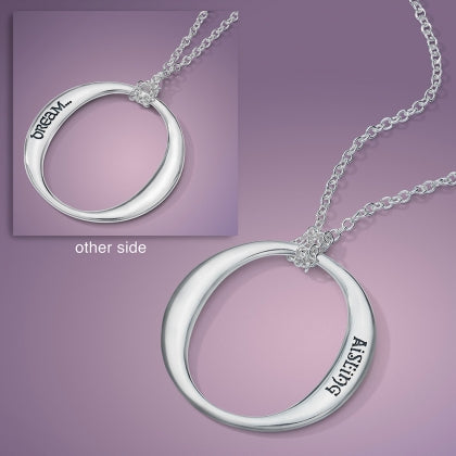 Dream in Gaelic (Aisling) - Circulo Necklace