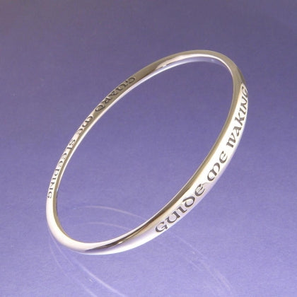 Guide Me Waking - Bangle Bracelet