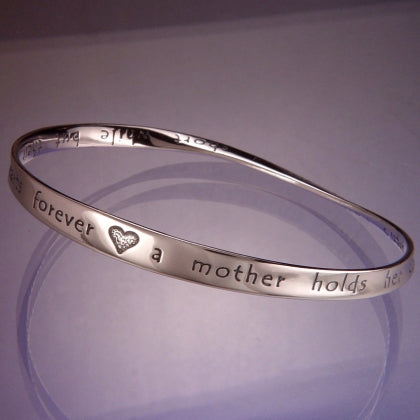 Heart's Forever (Mother's Love) Mobius Bracelet
