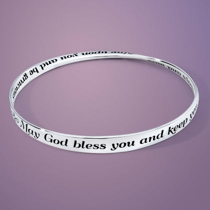 May God Bless You and Keep You Mobius Bracelet