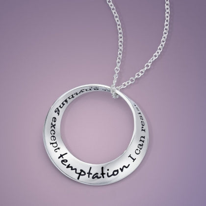 Temptation (Oscar Wilde) Mobius Necklace