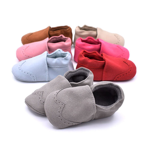 Baby Shoes Moccasins In 7 Beautiful Colors - Cute Eco Baby