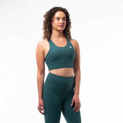 Vibe Sports Bra | Forest Green