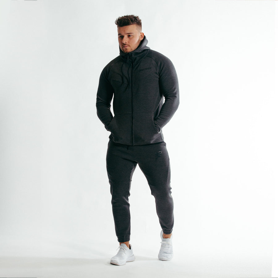 Impulse Zip Up Hoodie | Sports Grey