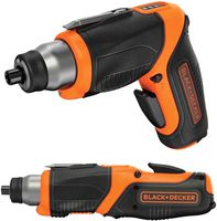 BLACK & DECKER 3.6V 1.5Ah Li-Ion Cordless Screwdriver with LED Work Light -  CS3653LC-GB - Zimtechtools