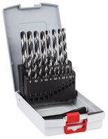 BOSCH HSS PointTeQ Metal Drill Bit Set 1-10mm, 19 Piece -  2608577351 - Zimtechtools