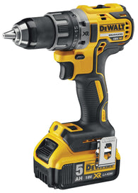 DeWalt DCD791P2 18v XR Brushless Compact Drill Driver with 2x 5.0Ah Batteries - Zimtechtools