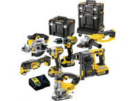 DeWalt DCK654P3T 18v XR Cordless 6 Piece Power Tool Kit includes 3x 5.0Ah Batteries - Zimtechtools