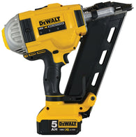 DeWalt DCN692P2 XR 18v Framing Nailer Including 2x 5.0Ah Batteries - Zimtechtools