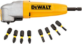 DEWALT Right Angle Torsion Drill Attachment -  DT71517-QZ - Zimtechtools