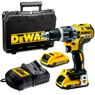 Dewalt DCD795M2 18v Compact Brushless Hammer Drill Driver with 2 x 4.0Ah Battery, Charger and Case - Zimtechtools