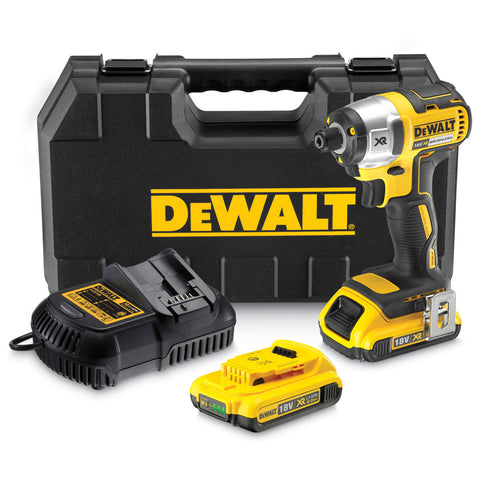 DeWalt DCF886D2 18V Li-ion Cordless Brushless Impact Driver with 2 x 2Ah Batteries - Zimtechtools