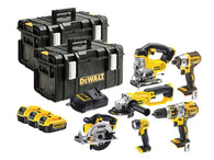 DeWalt DCK694M3 6 Piece Power Tool Kit 3 x 18v 4Ah Li-ion - Zimtechtools